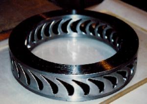 Nickle-based-turbine-wheel-assembly
