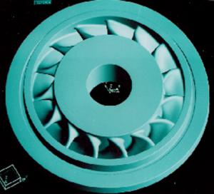 Nickle-based-turbine-wheel-concept