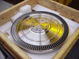 Nickle based turbine wheel final