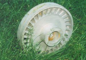 Nickle Based Turbine Wheel