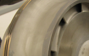Titanium Exducer Closeup